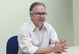 Reitor Marcelo Knobel
