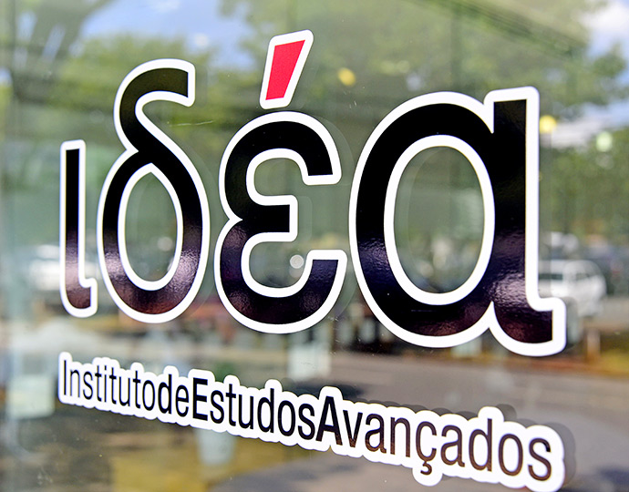 Marca do Instituto de Estudos Avançados (IdEA), inaugurado na Unicamp