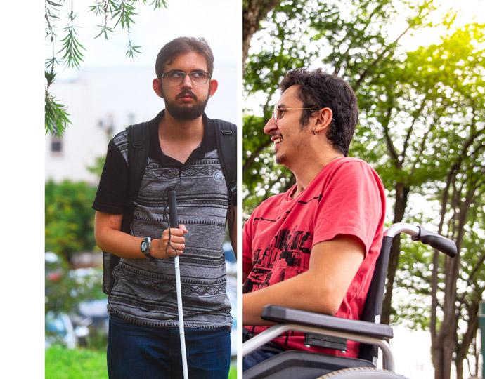 Formados em Fonoaudiologia e Medicina, Pedro Carvalho e César Gatto ressaltam importância do apoio para a superação