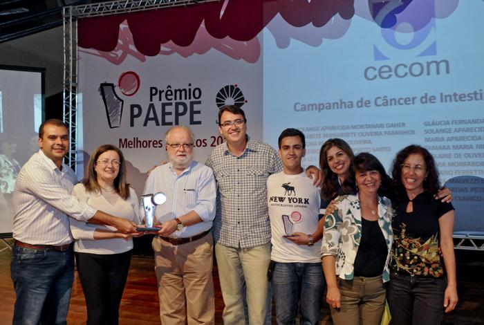 Grupo do Cecom fica em 1º lugar