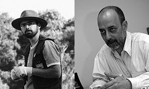 Os organizadores: Jaisson Lino (esq.) e Pedro Paulo Funari