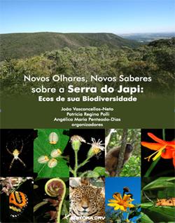 Capa do livro Novos Olhares, Novos Saberes sobre a Serra do Japi: Ecos de sua Biodiversidade