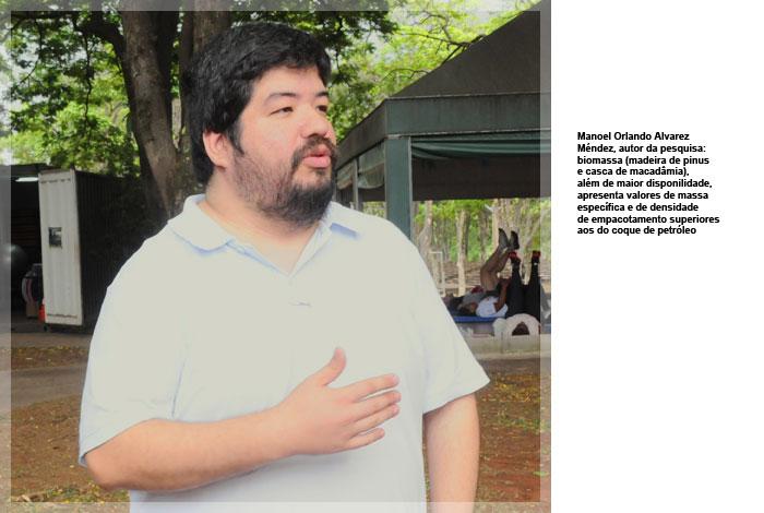 Manoel Orlando Alvarez Mendez, autor da pesquisa