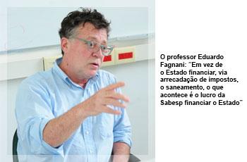 O professor Eduardo Fagnani