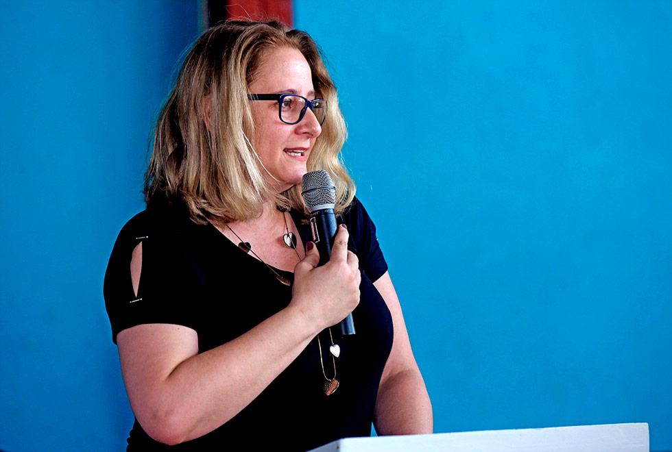 Diretora do Cotuca, professora Vanessa Bavaresco: análise de histórico escolar foi uma excepcionalidade