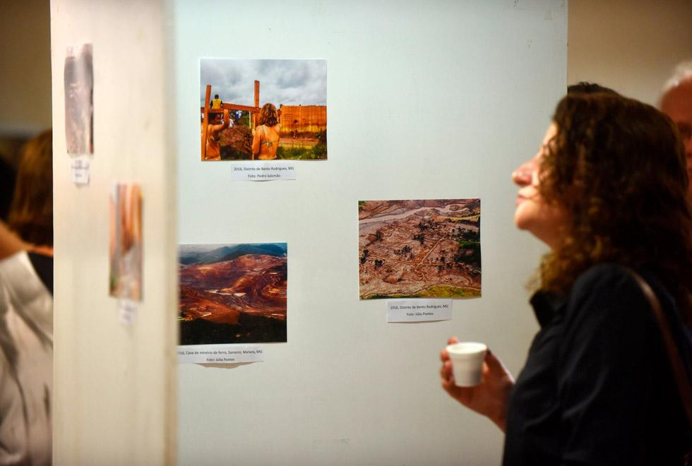 Exposição fotográfica sobre rompimento da barragem de Brumadinho