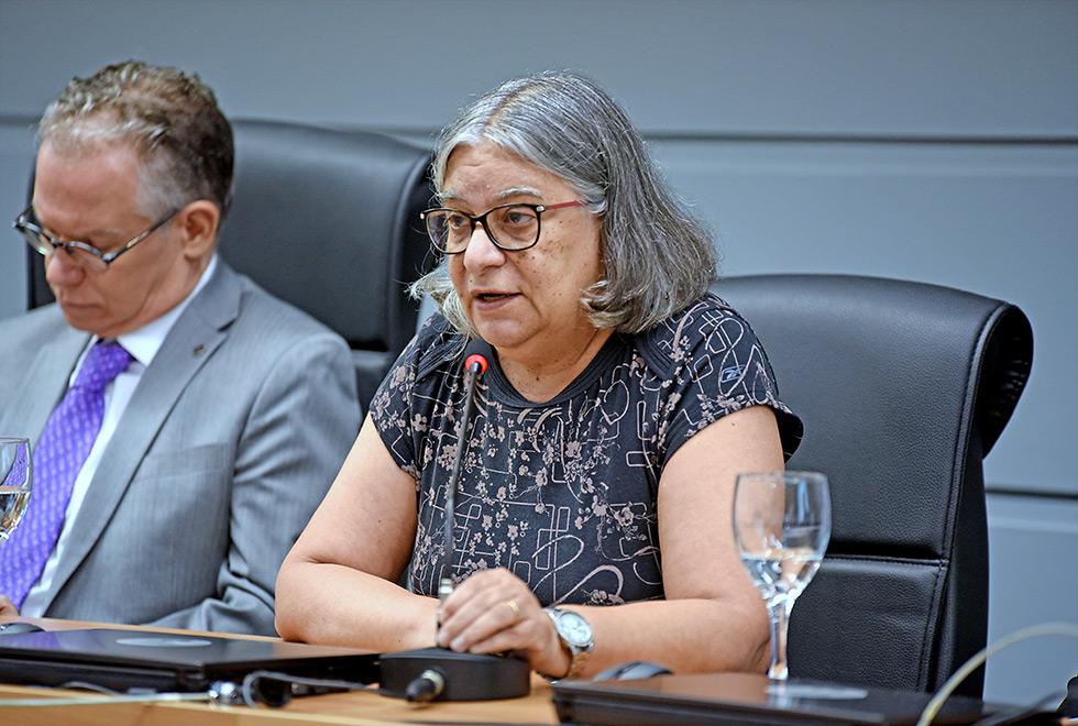 A coordenadora geral da Universidade, Teresa Dib Zambon Atvars