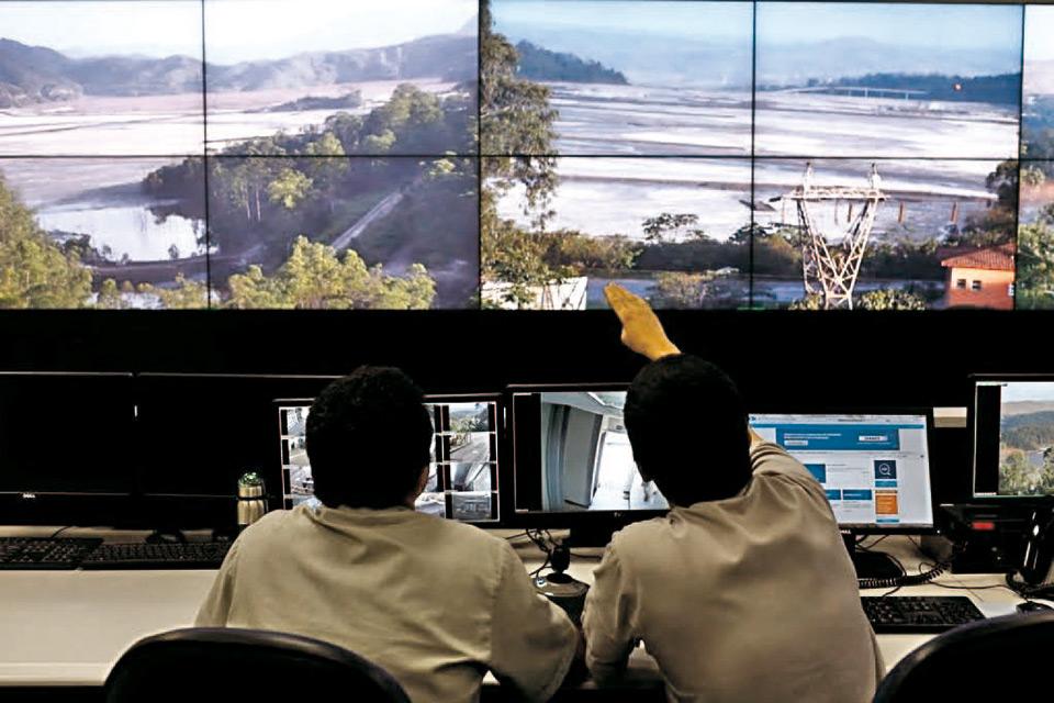 Sala de monitoramento da Samarco em Germano, cuidado que faltou (Fonte: Site da Samarco)