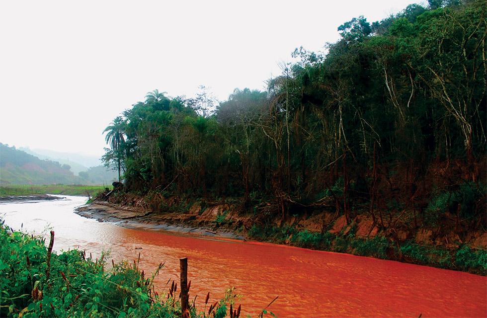 Rio Gualaxo do Norte, em junho de 2016 | Foto: Tássia Biazon, arquivo de viagem