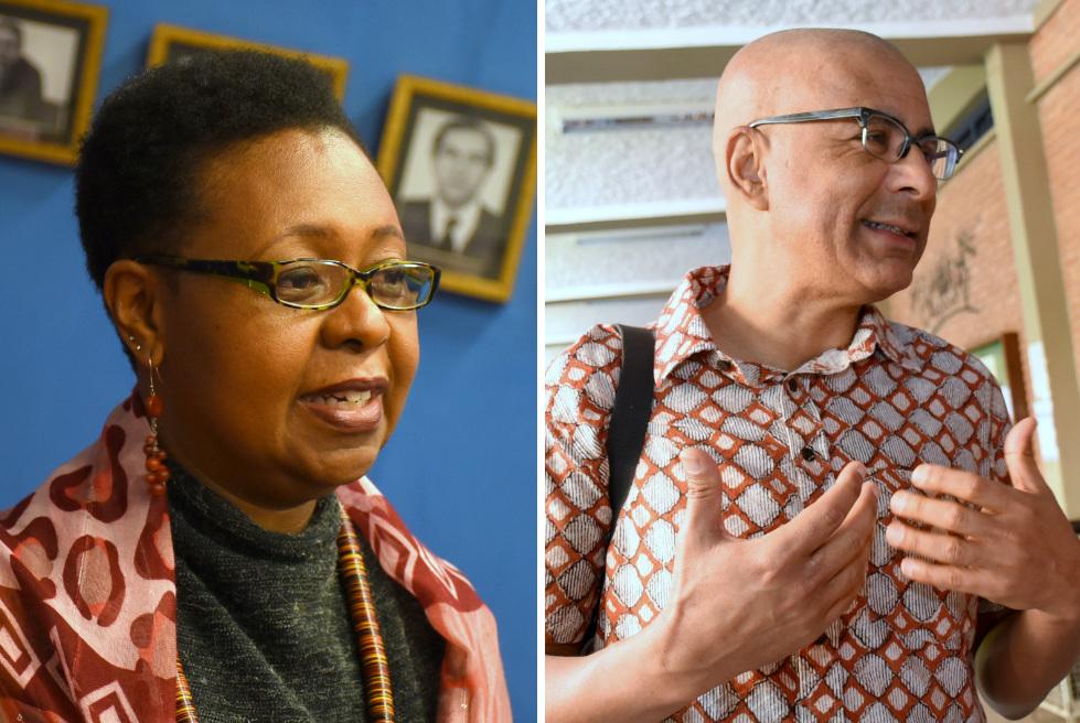 Organizadores do livro, professores Lucilene Reginaldo, da Unicamp e Roquinaldo Ferreira, da Universidade da Pensilvânia