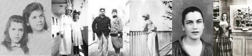 Fotos da linha do tempo de Tarsila do Amaral: Desenhos escolhidos para compor um dos primeiros volumes da coleção