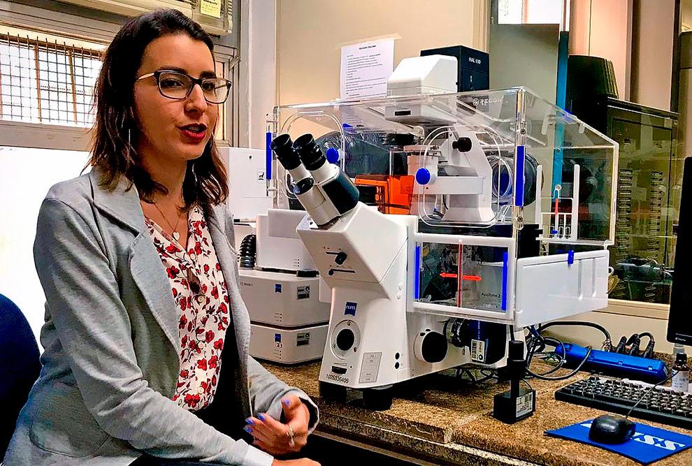 Isabella Gonçalves: a possibilidade de estudar as células tridimensionalmente