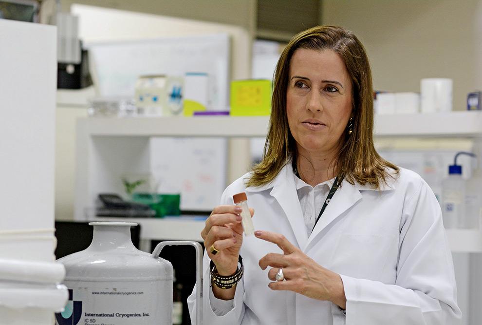 Daniéla Magro, nutricionista e pesquisadora do Departamento de Cirurgia da FCM