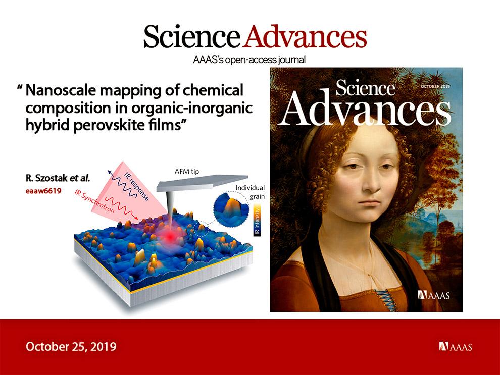 Ilustração dos procedimentos realizados e capa da Science Advances (Imagem: Divulgação)