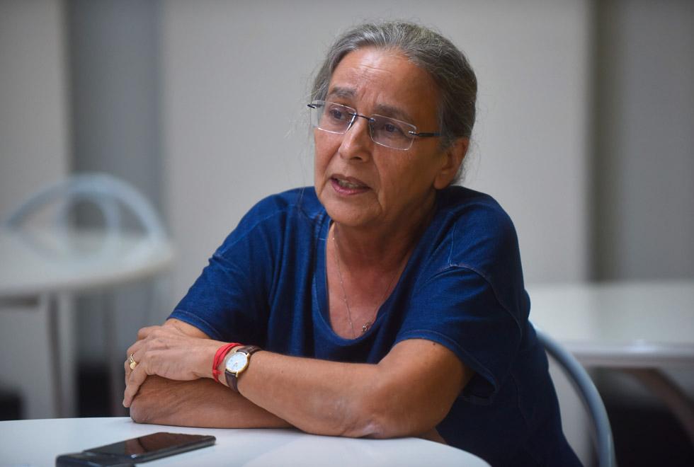 Professora Leda Githay: As grafias são alteradas propositalmente para não passarem pelo filtro da rede, que é automática