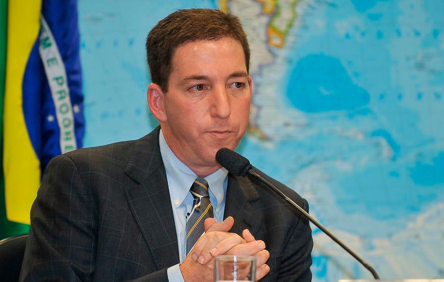 "O jornalista norte-americano Glenn Greenwald, autor do livro ""Great American Hypocrites: Toppling the Big Myths of Republican Politics"" 