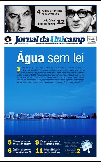 Jornal da Unicamp - Edição 576