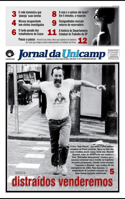 Capa da Edição JU 579