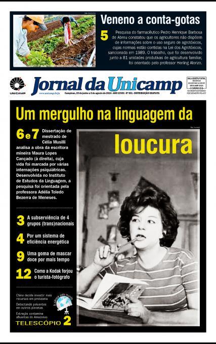 Capa da Edição JU 601