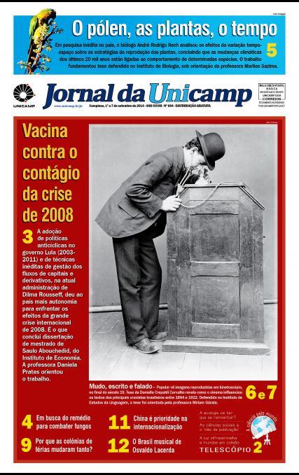 Capa da Edição JU 604