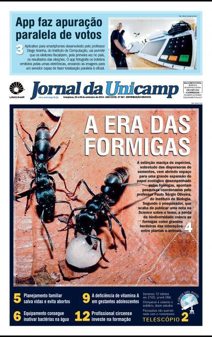 Capa da Edição JU 607