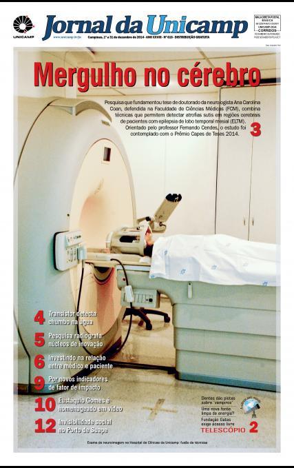 Capa da Edição JU 616