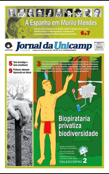 Capa da Edição JU 619