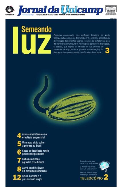 Capa da Edição JU 620