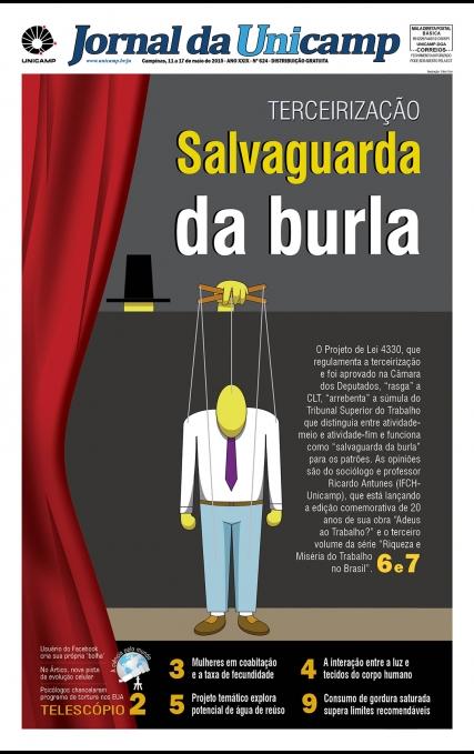 Capa da Edição JU 624