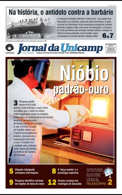 Capa da Edição JU 625