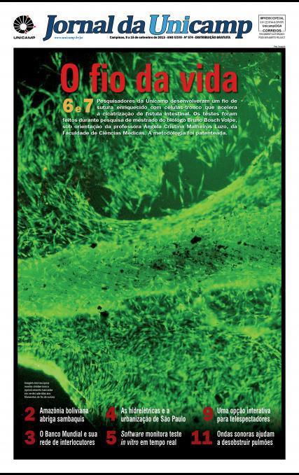 Capa da Edição JU 574