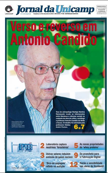 Capa da Edição JU 585
