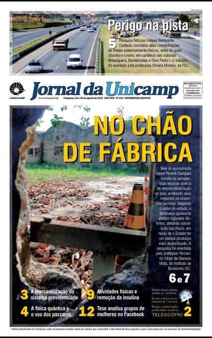 Capa da Edição JU 634