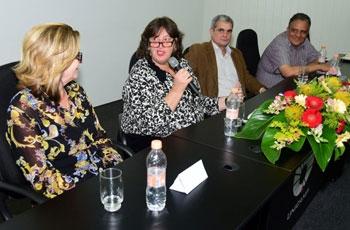 Lilian Cristina Buzioli, Gláucia Pastore, Armando José Geraldo e Edison Lins