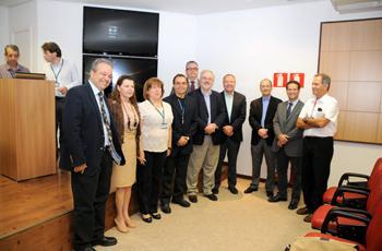 Autoridades da Unicamp recepcionam visitantes
