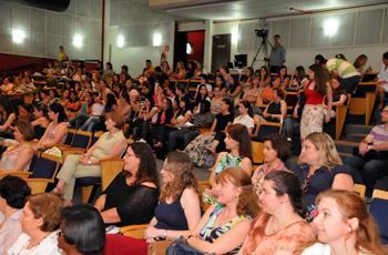 Público acompanha evento