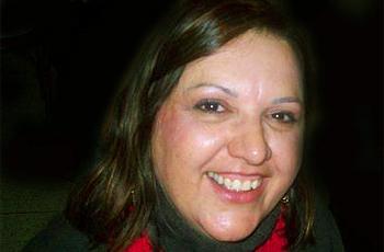 A escritora e funcionária, Teresa Azevedo