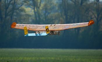 Aeronave da equipe Urubus