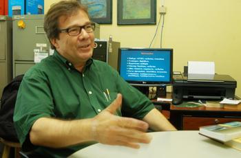 O pesquisador João Ernesto de Carvalho
