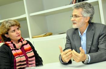 Dirce Zan e Luiz Carlos de Freitas
