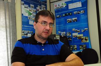 Marcos Borges, professor da FT