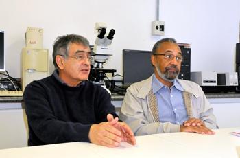 Nelson Durán e Oswaldo Alves, do NanoBioss