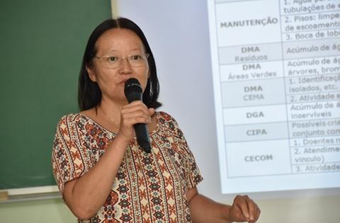 Atribuições de áreas no combate à dengue
