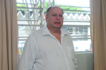Carlos Joly concede palestra no IG