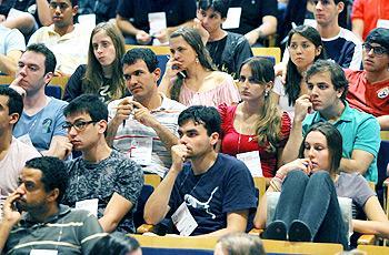 Alunos assistem palestras em workshop do Desafio Unicamp