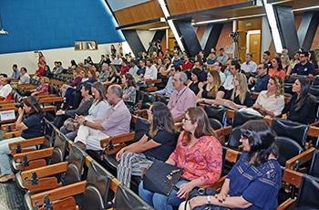 Público no Centro de Convenções