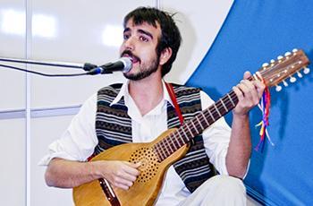 O músico João Arruda