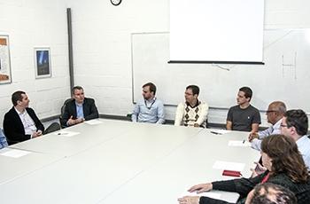 Formalização da parceria no IC