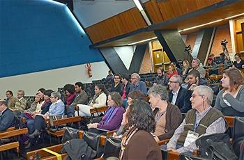 Público durante o evento