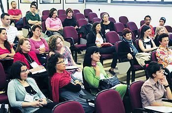 Participantes do evento no IFCH